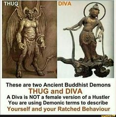 diva an ancient buddhist demon - Bing images Cultures Du Monde, Black Hebrew Israelites, Ange Demon, Bible Knowledge, Useless Knowledge, Spirit Science, Black History Facts, Ancient Mysteries, Bible Truth