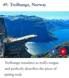 A lot of travelers, photographers are excited and fascinated by incredible places in the corner of our world. Now we can see the piece of that beauty. Cool Places To Visit, Places To Travel, Travel Destinations, Tromso, Adventure Awaits, Adventure Travel, Rafting, Waterfall Scenery, Visit Norway