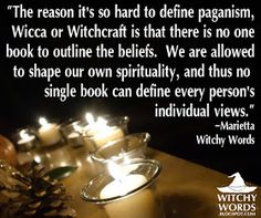 Witchy Words: Reader Question: What is the difference between paganism, Wicca and Witchcraft? I'm not a pagan, witch, or Wiccan but I have an interest and I find this to be great and encouraging :) Pagan Witchcraft, Wiccan Witch, Magick, Pagan Beliefs, Eclectic Witch, Spiritual Path, Book Of Shadows, Occult, This Or That Questions
