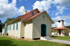 Igreja ucraniana da comunidade de Santos Andrade, município de Antônio Olinto