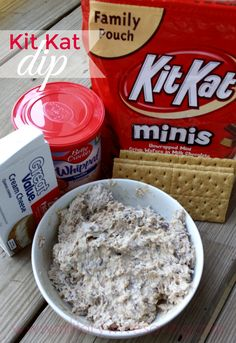 Kit Kat Crunch Dip! Such an awesome and creative recipe