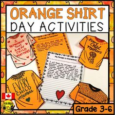 Matter Activities, Speech Therapy Activities, Reading Activities, Indigenous Education, Aboriginal Education, Every Child Matters, Residential Schools, School Motivation, Orange Shirt