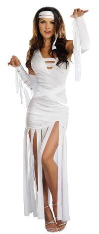 Mummy Dearest Sexy Costume - Halloween Costumes