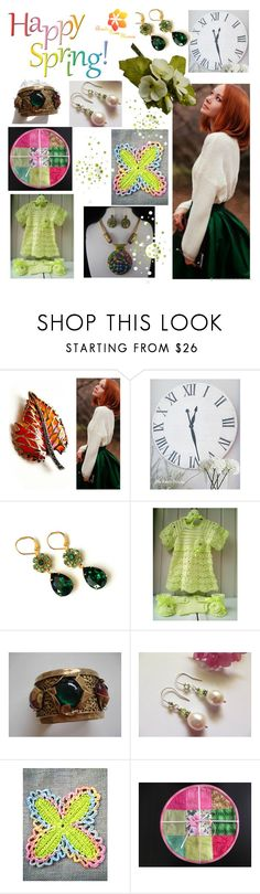 Happy spring! by varivodamar on Polyvore featuring мода and modern