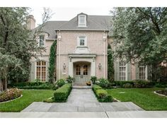 """Shows like it is still a model home (by Gage Homes).  Located in one of the most prestigious gated communities in North Dallas, and situated on a private street in the """"Glens"""".  Love the door surround."""