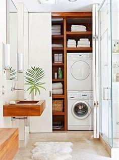 beautiful laundry space!
