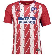 a4b6de325 17-18 Atletico Madrid Home Soccer Jersey Shirt Football Shirts