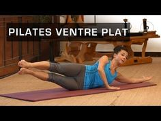 Pilates Master Class - Pilates ventre plat - YouTube