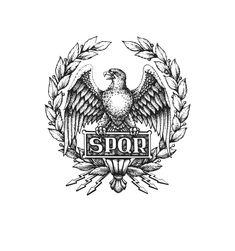The Spqr tattoo!