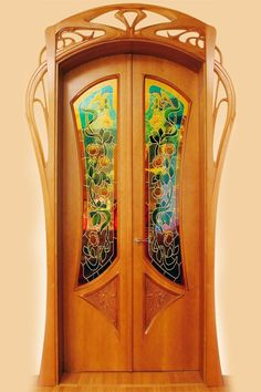 Jury Moshans' furniture art / DIFFERENT The interior doorways and the mirror are beautiful as well.