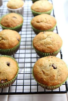 Gourmet Baking: Old-Fashioned Banana and Chocolate Chip Muffins