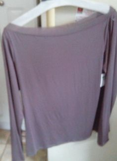 Intimates Lounge Wear - Top Calvin Klein Lounge Top - New Large Taupe SALE NOW! #CalvinKlein