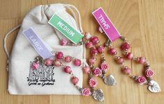 Blütenschmuck - *THE ROSE CONNECTION* süßes Rosen-Energie-Armband - ein Designerstück von Gabriele-von-Gratkowski bei DaWanda