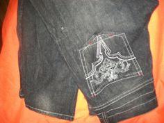 W36 L30,Avirex,100% Cotton,Dark Carcoal Gray,Distressed,Straight Leg Jeans #Avirex #RegularFit