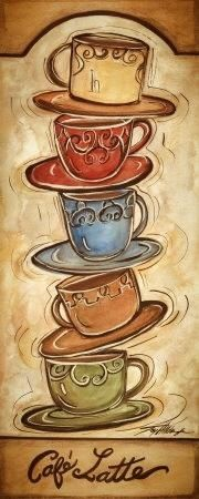Coffee.  This would make a great cross stitch pattern.