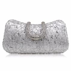 Milisente Red Designer Clutches Luxury Crystal Evening Bags Silver Women  Tote Wedding Purse Handbags c4baaa7b1256e