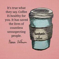 Coffee saves, friends!