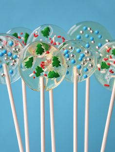 Homemade Candy Recipes - Holiday Lollipops - Click pic for 25 DIY Christmas Gifts