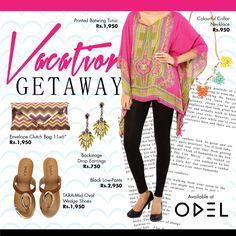 Vacation Getaway! Shop online at www.odel.lk #Odel #OdelFashion #Vacation #Getaway #Style #Trends #Colombo #Fashion #Lifestyle