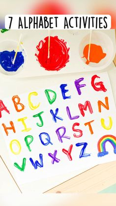 Physical Activities For Kids, Preschool Learning Activities, Alphabet Activities, Preschool Activities, Lesson Plans For Toddlers, Kindergarten Prep, Abcs, Homeschooling, Literacy