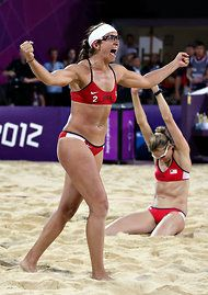 May-Treanor and Walsh Jennings Win Gold in Beach Volleyball - NYTimes.com