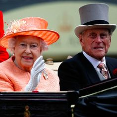 Queen Elizabeth II and Prince Philip Have a Cute Day Date at the Races