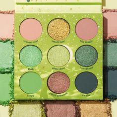 Sprinkle A Little Magic On Your Daily Makeup With This Tinker Bell Colourpop Collection! - beauty - Makeup Palette, Eyeshadow Palette, Beauty Skin, Hair Beauty, Beauty Makeup, Disney Inspired Makeup, Colourpop Cosmetics, Daily Makeup, What Inspires You