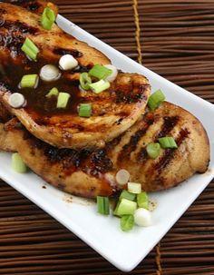 Asian Barbecue Chicken #recipe | RecipeGirl.com