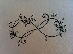 eternity pretty wrist tattoos - Google Search mit Herzen und Sterne....