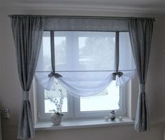 Information about the panel set with curtain curtains 200 cm – 6716797845 in the archive … – 2019 – Curtains Diy Roman Curtains, Diy Curtains, Curtains With Blinds, Kitchen Curtains, Diy Bedroom Decor, Diy Home Decor, Curtain Rails, Curtain Designs, Window Coverings