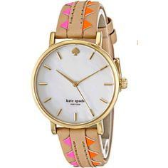 Cutest Kate Spade embroidered/tribal like watch!!!