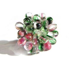Holiday Berry ring - Limited Edition - OOAK