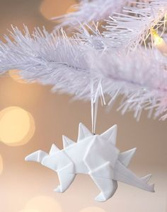 Adornos de Navidad de Origami. #adornosnavidad #adornosnavidadoriginales #navidad #christmas #adornosnavidadgeek #origami