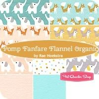 Pomp Fanfare Flannel Fat Quarter BundleRae Hoekstra for Cloud9 Fabrics