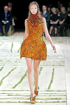 From The Hunger Games Catching Fire: Effie Trinket Wearing Alexander McQueen!