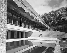 Avanti Architects and ERZ landscape architects have revealed these plans to save the crumbling ruin of Gillespie, Kidd & Coia's 1966 St Peter's Seminary in Cardross, from Glasgow New Saints, Life After Death, Glasgow School Of Art, Tower House, Old Mansions, Beautiful Architecture, Modern Architecture, Brutalist, Modern Buildings