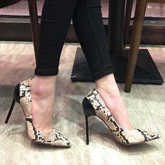 4b0983e6ff41 Womens Patterns Pointed Toe Leather Stilettos High Heels Shoes Plus Sz Pumps  X33  fashion