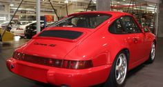 1992 porsche 911 964 carrera rs touring for sale in red with black leather interior at dutton garage 41 madden grove richmond melbourne victoria australia classic and modern cars make mine rare