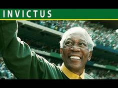 A newly elected President Nelson Mandela uses a sport, rugby, to bring together a Nation torn by apartheid. Love Movie Trailer, Movie Trailers, Invictus Film, Movie List, Movie Tv, Movies Showing, Movies And Tv Shows, South Africa Rugby, Movies