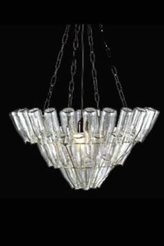 """bottle chandelier.....or """"You might be a Redneck"""" if you have one of these in your house..... :)"""