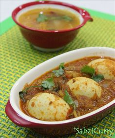 Punjabi Egg Masala