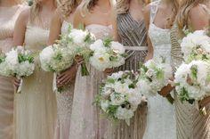 #metallic  Photography: Ashley Seawell Photography - www.ashleyseawellphotography.com  Read More: http://www.stylemepretty.com/2014/12/15/romantic-sea-island-georgia-wedding/