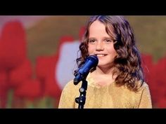 Holland's got talent 2013 - Amira Willighagen - O mio babbino caro -   Holland's Got Talent auditions Amira (9 years) is a bit nervous, she has never been to such a large audience. She sings the stars from the sky and gets a standing ovation.