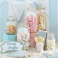 vintage lace party supplies candy buffet kit £9.99 each