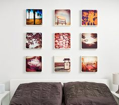 instagram photos printed on canvas