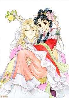 The Emperor of Saiunkoku. Manga Art, Manga Anime, Anime Art, Anime Love, Anime Guys, Anime English Dubbed, Saiunkoku Monogatari, Japanese Novels, Colorful Clouds