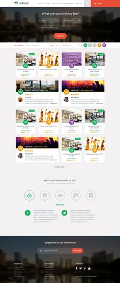 Duhoot Portal is a PSD template for creating high-end landing pages for your digital products. Duhoot is designed with great attention to detail and cool Free Mockup Templates, Free Website Templates, Best Web Design, Site Design, Portal Design, User Experience Design, Web Design Inspiration, New Job, Website Ideas