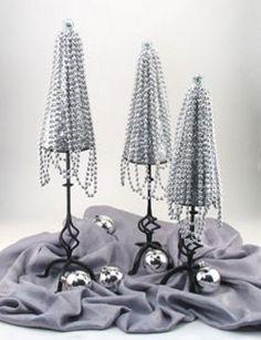 Mini Beaded Christmas Trees | FaveCrafts.com