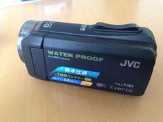 JVC、防水ビデオカメラ。