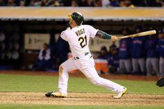 Oakland Athletics catcher Stephen Vogt